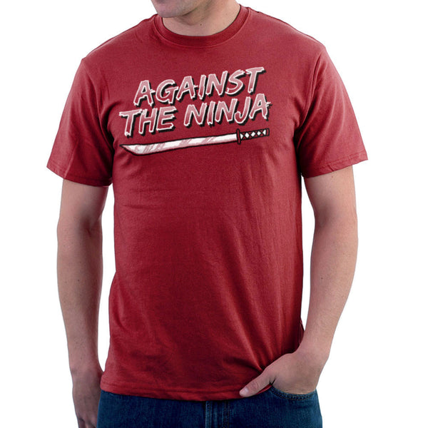 Against The Ninja Men's T-Shirt Men's T-Shirt Cloud City 7 - 1