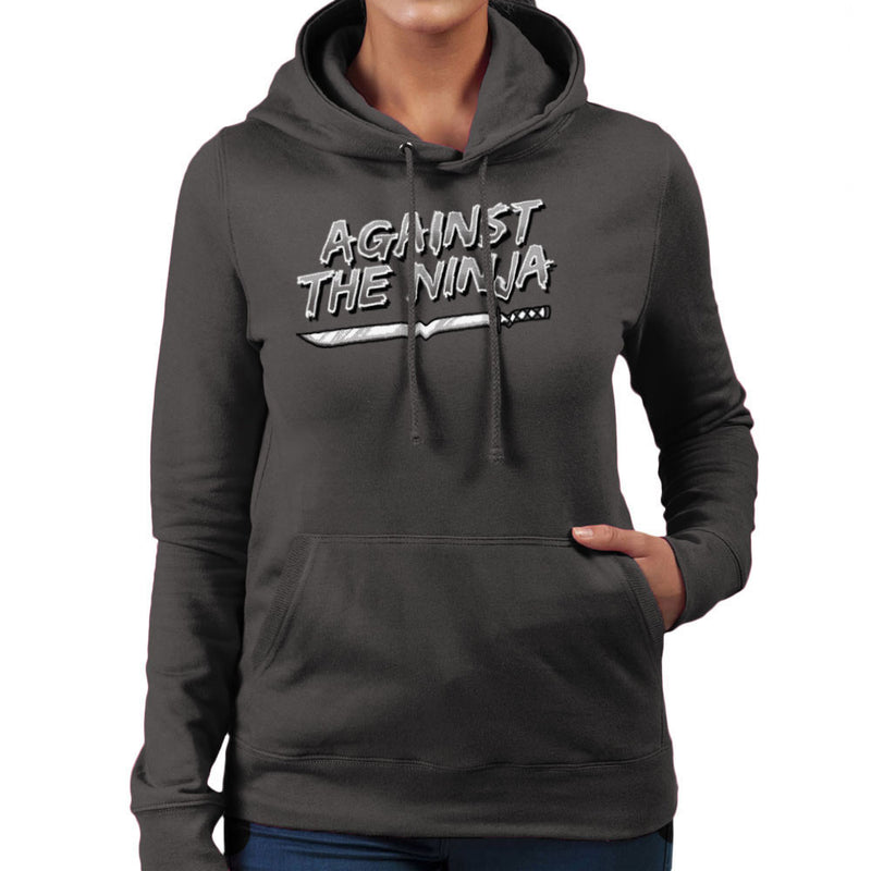Against The Ninja Women's Hooded Sweatshirt by Gimetzco - Cloud City 7