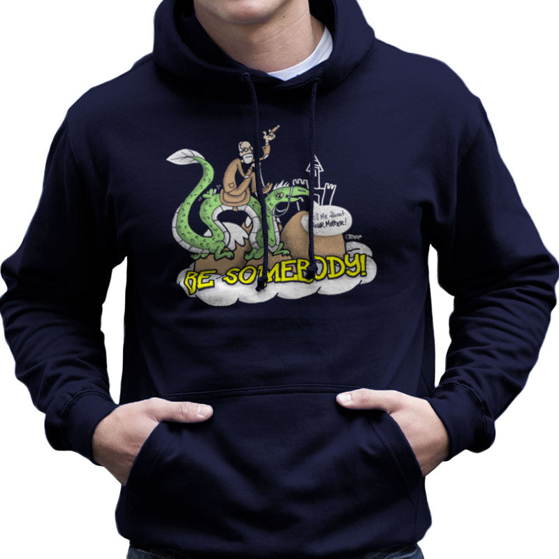 Be Somebody Men's Hooded Sweatshirt by Gimetzco - Cloud City 7