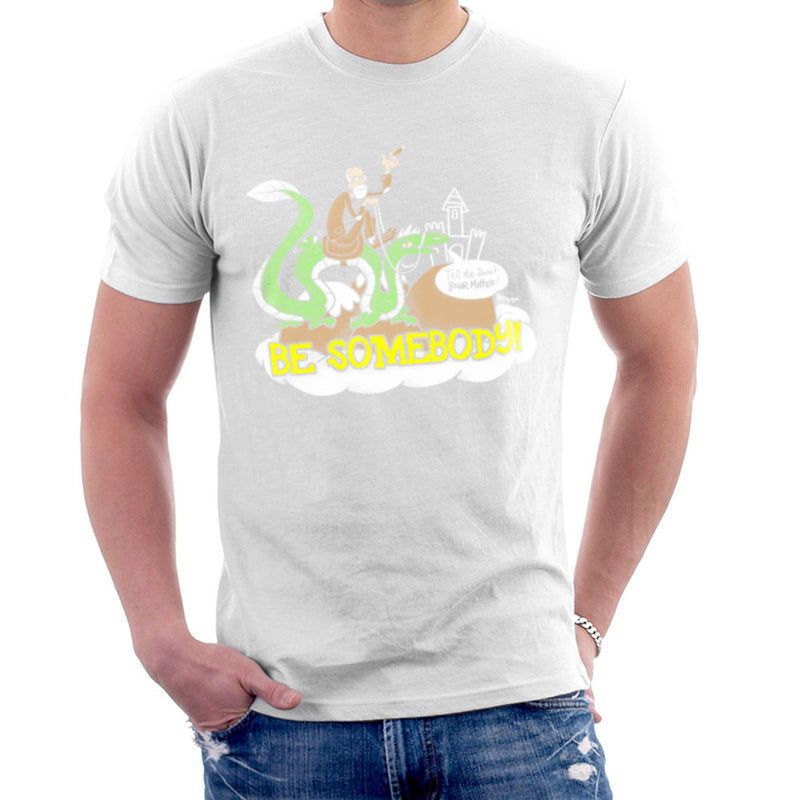 Be Somebody Men's T-Shirt by Gimetzco - Cloud City 7