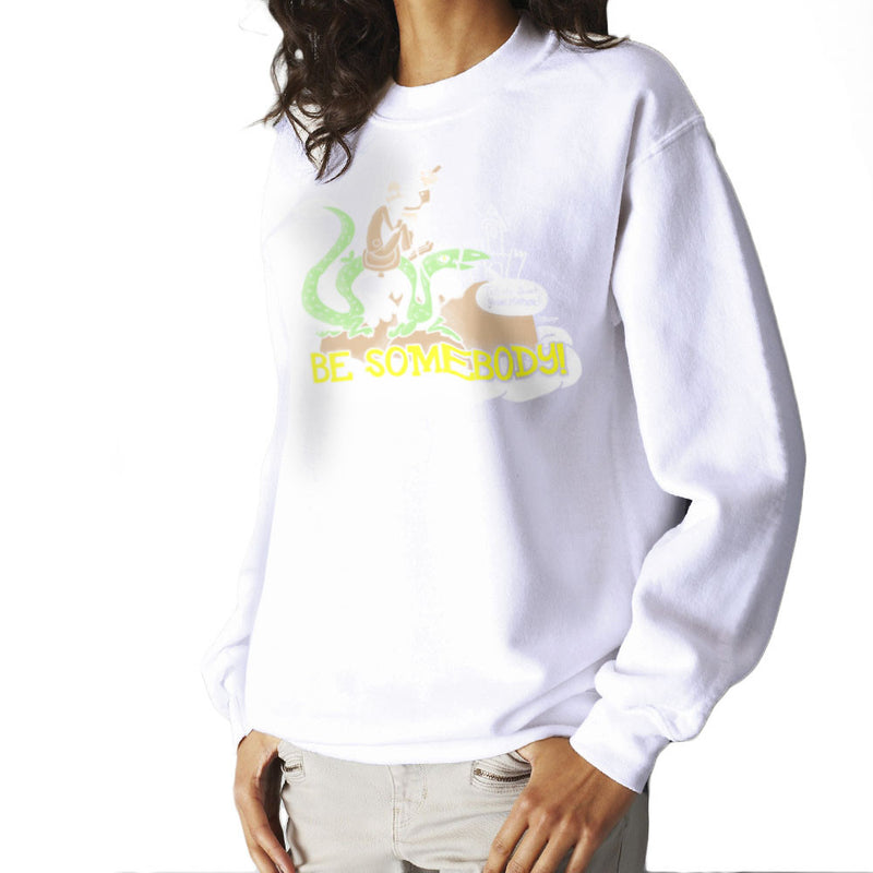 Be Somebody Women's Sweatshirt by Gimetzco - Cloud City 7