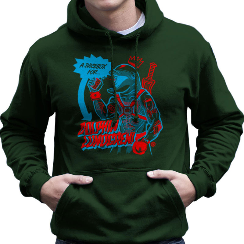 A Juice Box For Dolphin Lundgren Men's Hooded Sweatshirt by Gimetzco - Cloud City 7