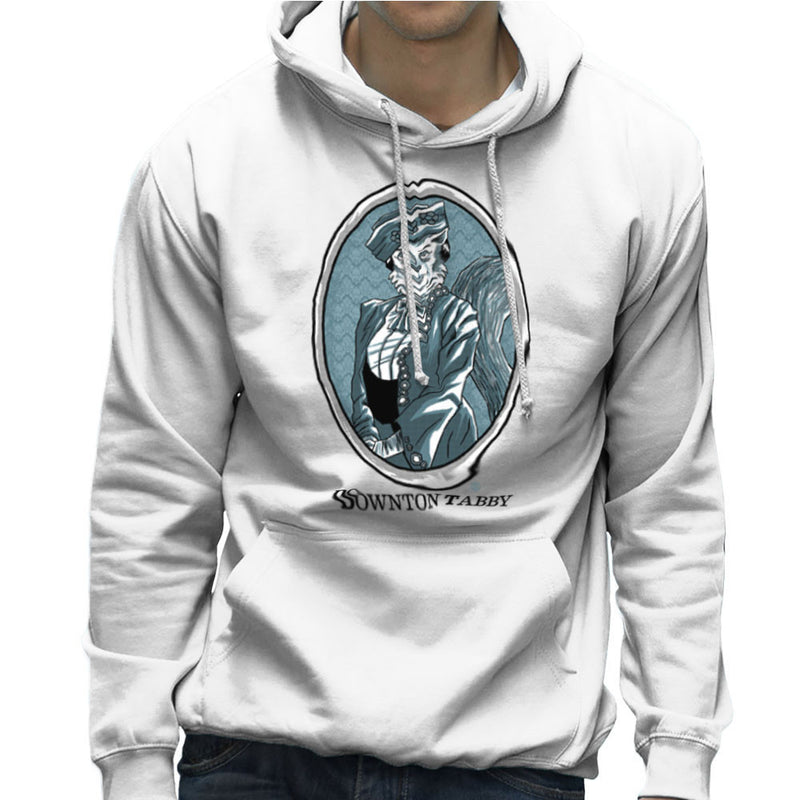 Downton Tabby Men's Hooded Sweatshirt by Gimetzco - Cloud City 7