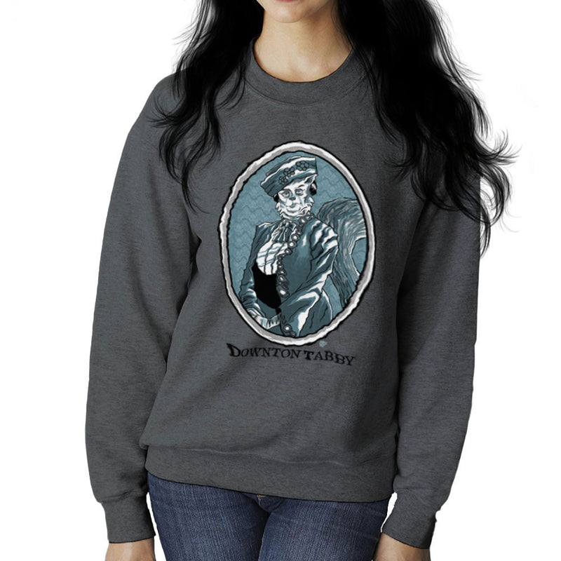 Downton Tabby Women's Sweatshirt by Gimetzco - Cloud City 7