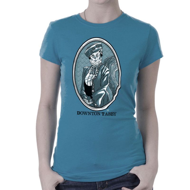 Downton Tabby Women's T-Shirt by Gimetzco - Cloud City 7