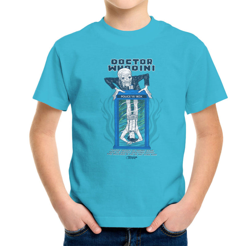 Doctor Whodini Houdini Dr Who Kid's T-Shirt by Gimetzco - Cloud City 7