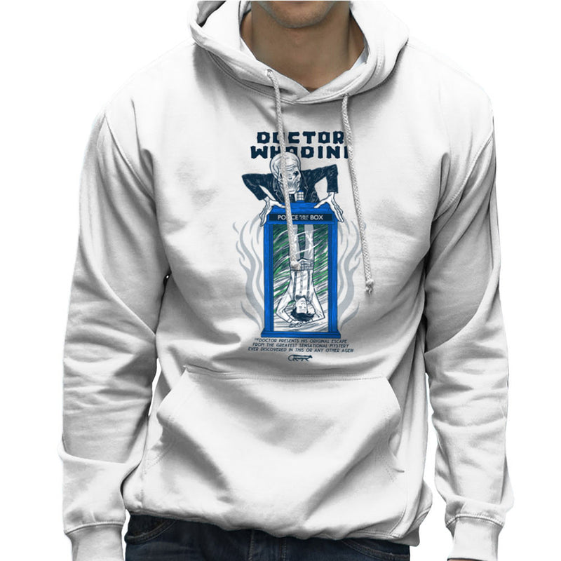 Doctor Whodini Houdini Dr Who Men's Hooded Sweatshirt by Gimetzco - Cloud City 7