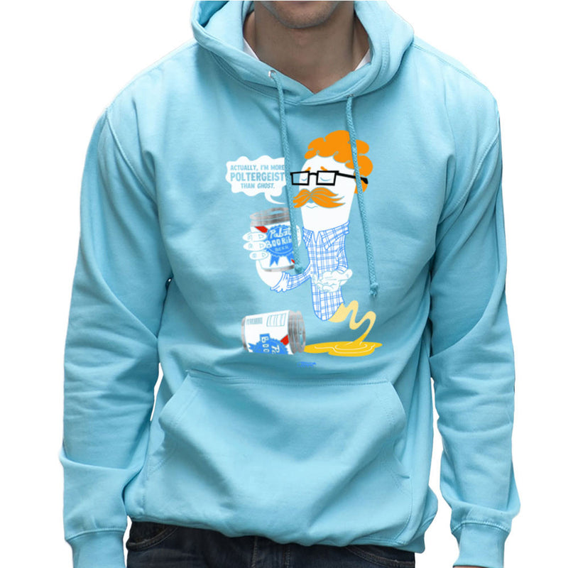 Hipster Ghost Men's Hooded Sweatshirt by Gimetzco - Cloud City 7