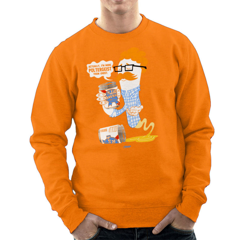 Hipster Ghost Men's Sweatshirt by Gimetzco - Cloud City 7
