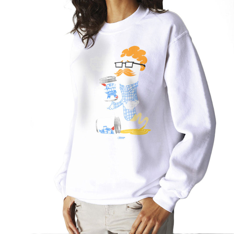 Hipster Ghost Women's Sweatshirt by Gimetzco - Cloud City 7
