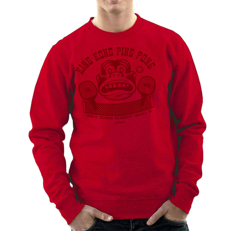King Kong Ping Pong Men's Sweatshirt by Gimetzco - Cloud City 7