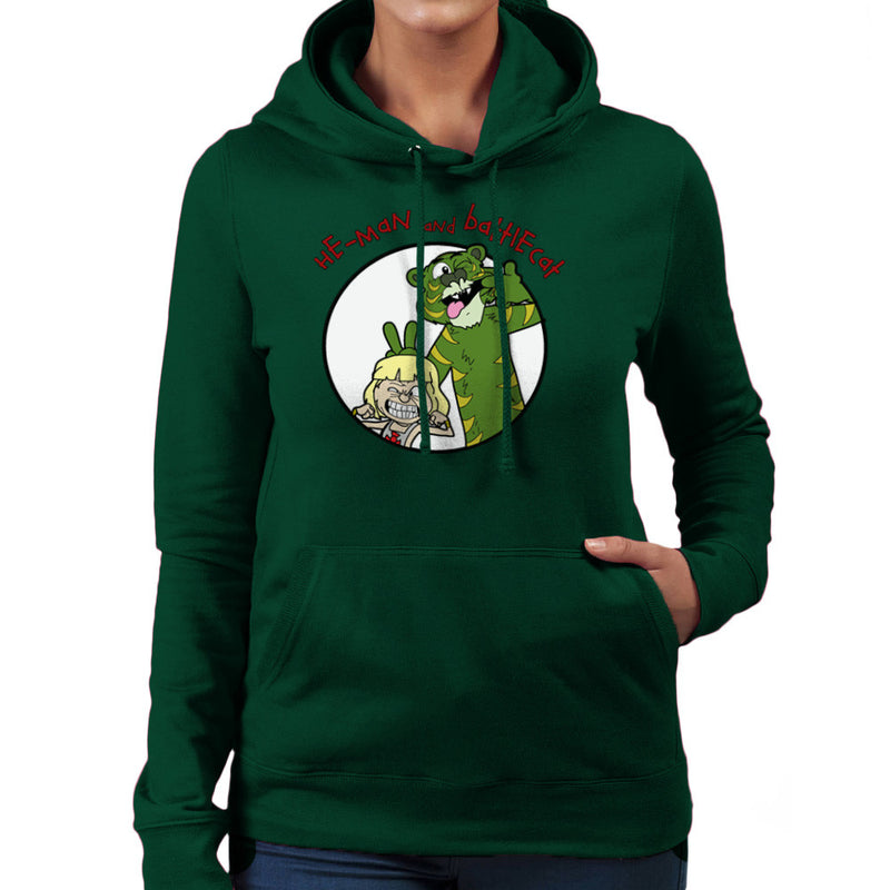 He Man and Battle Cat Calvin and Hobbes Women's Hooded Sweatshirt Women's Hooded Sweatshirt Cloud City 7 - 13