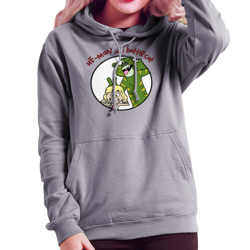 He Man and Battle Cat Calvin and Hobbes Women's Hooded Sweatshirt Women's Hooded Sweatshirt Cloud City 7 - 5