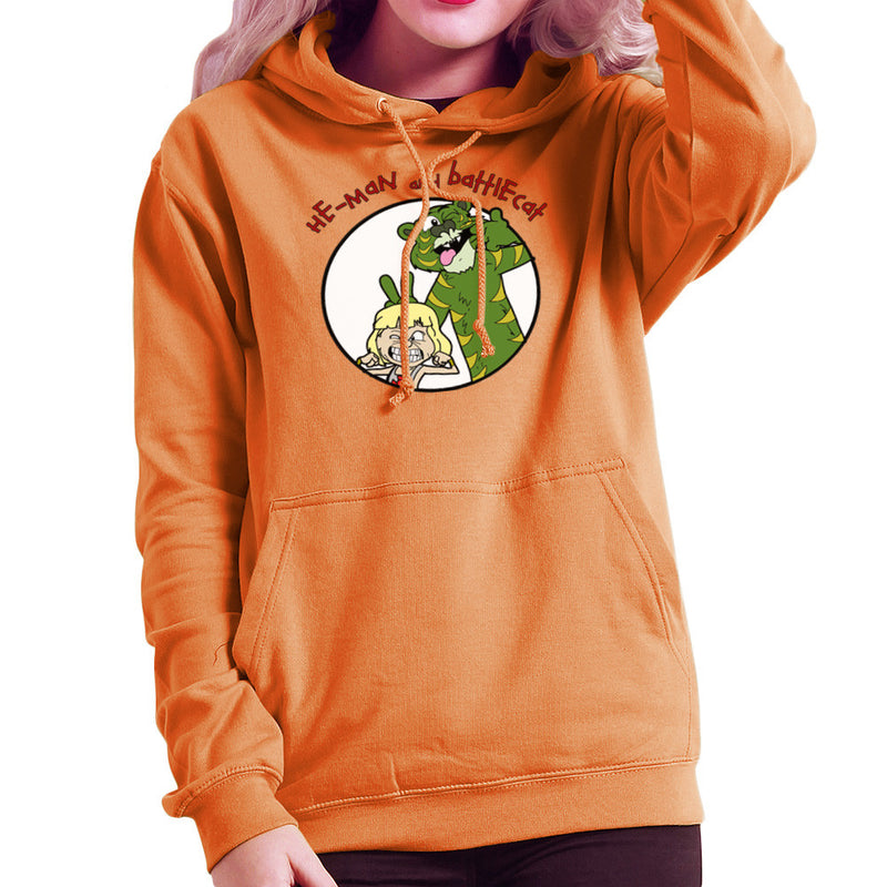 He Man and Battle Cat Calvin and Hobbes Women's Hooded Sweatshirt Women's Hooded Sweatshirt Cloud City 7 - 17