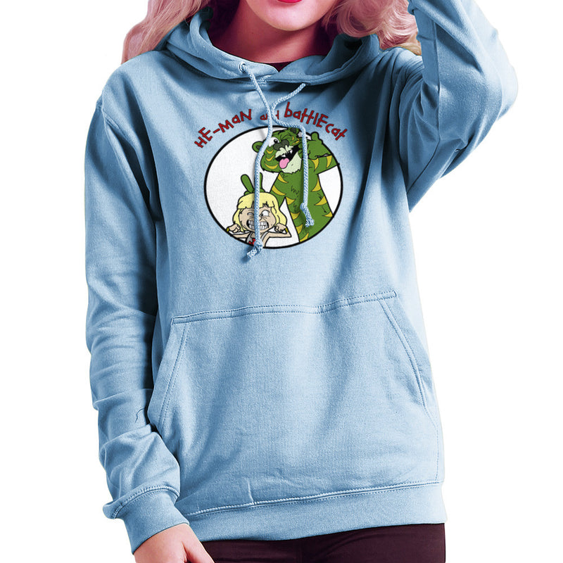 He Man and Battle Cat Calvin and Hobbes Women's Hooded Sweatshirt Women's Hooded Sweatshirt Cloud City 7 - 11