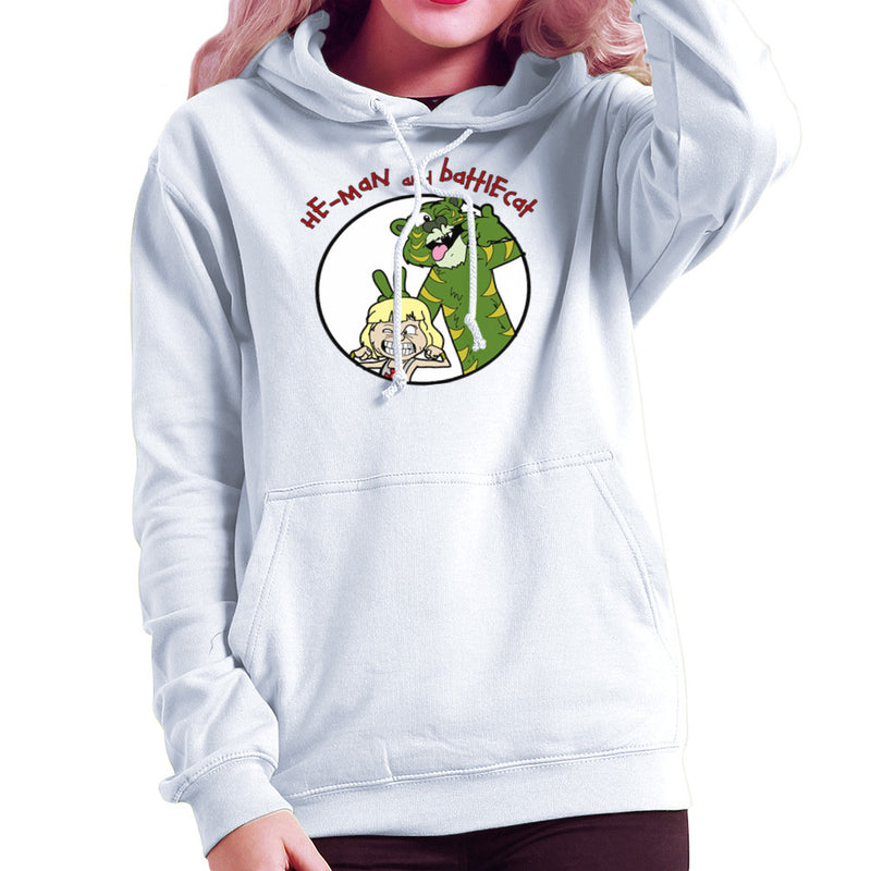 He Man and Battle Cat Calvin and Hobbes Women's Hooded Sweatshirt Women's Hooded Sweatshirt Cloud City 7 - 6