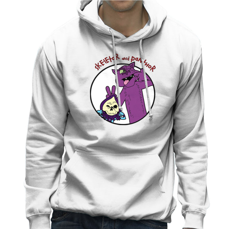 Skeletor and Panthor Calvin and Hobbes Men's Hooded Sweatshirt by TopNotchy - Cloud City 7