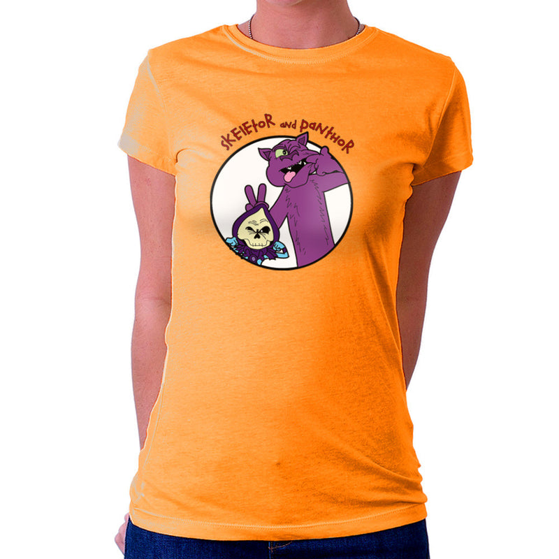 Skeletor and Panthor Calvin and Hobbes Women's T-Shirt Women's T-Shirt Cloud City 7 - 17