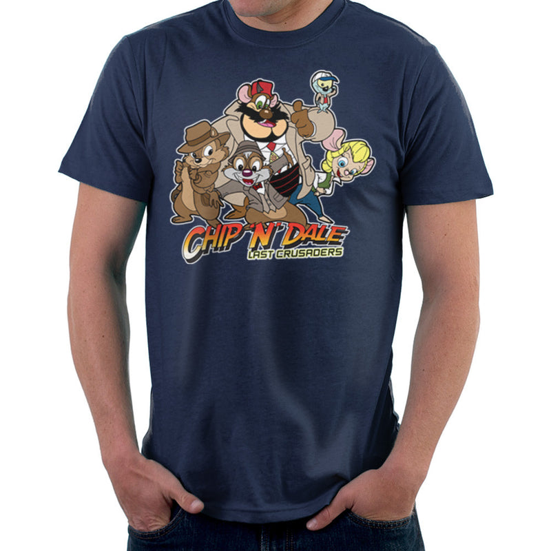 Chip N Dale Last Crusaders Indiana Jones Rescue Rangers design Cloud City 7 - 2