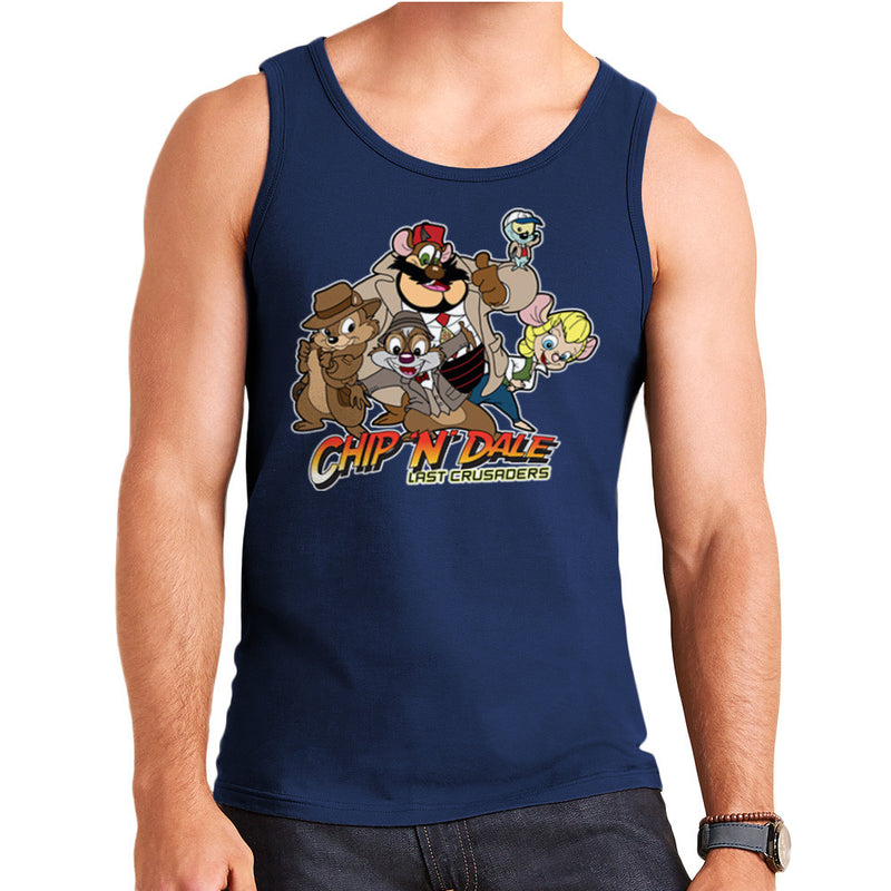 Chip N Dale Last Crusaders Indiana Jones Rescue Rangers Men's Vest by TopNotchy - Cloud City 7