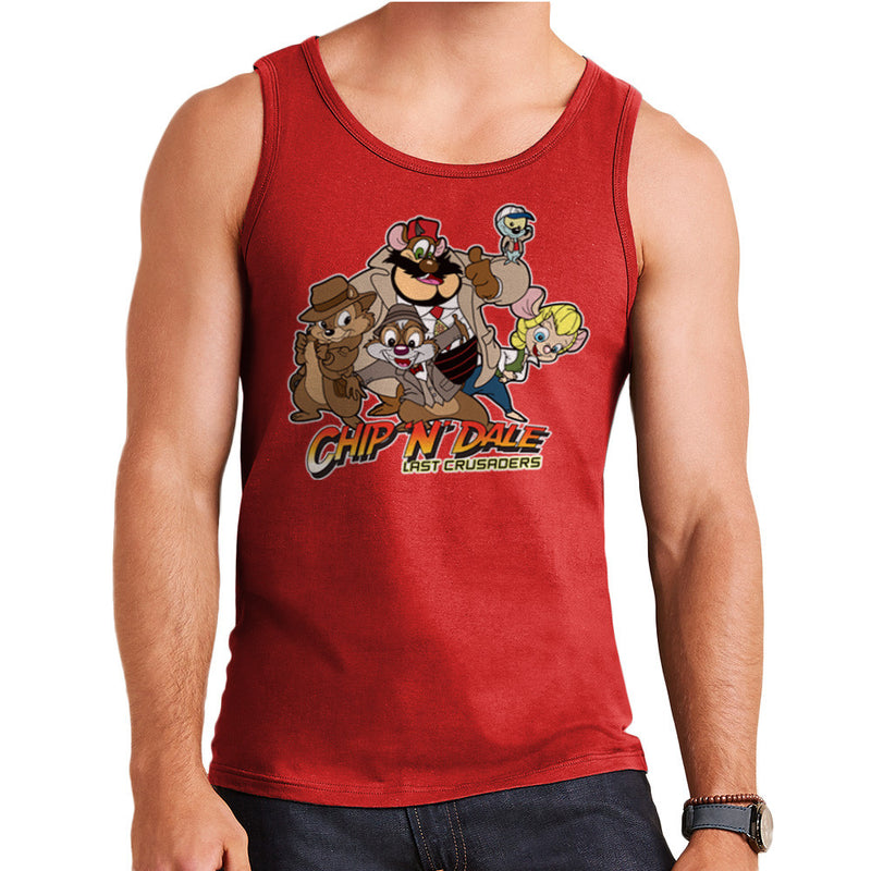 Chip N Dale Last Crusaders Indiana Jones Rescue Rangers Men's Vest Men's Vest Cloud City 7 - 7