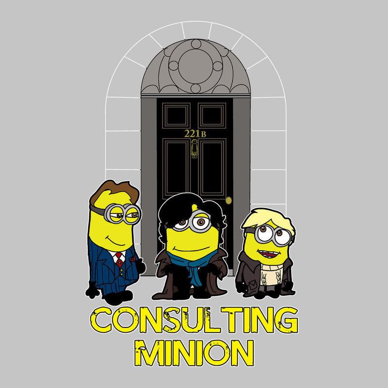 Consulting Minion Sherlock Holmes John Watson Mycroft Men's T-Shirt by TopNotchy - Cloud City 7