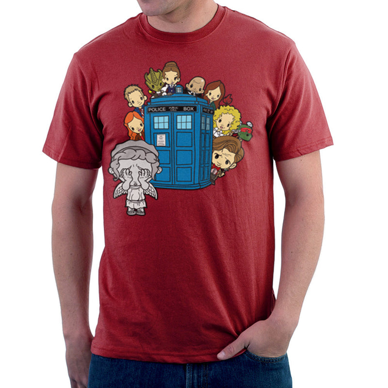 Doctor Who Weeping Angel Hide and Seek Matt Smith Tardis by TopNotchy - Cloud City 7