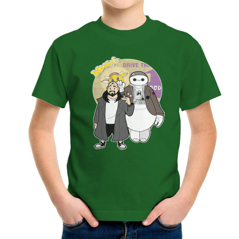 Jaymax and Silent Bob Mallrats Clerks Kid's T-Shirt Kid's Boy's T-Shirt Cloud City 7 - 13