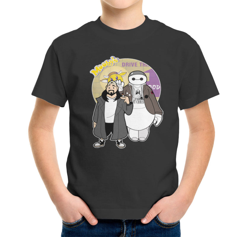 Jaymax and Silent Bob Mallrats Clerks Kid's T-Shirt Kid's Boy's T-Shirt Cloud City 7 - 4