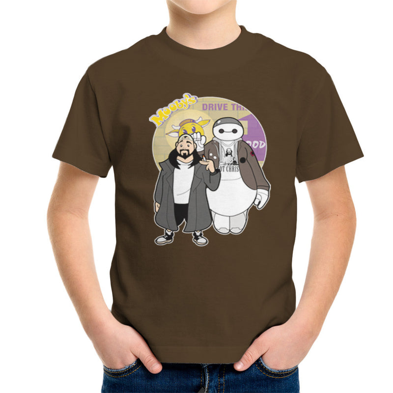 Jaymax and Silent Bob Mallrats Clerks Kid's T-Shirt Kid's Boy's T-Shirt Cloud City 7 - 12