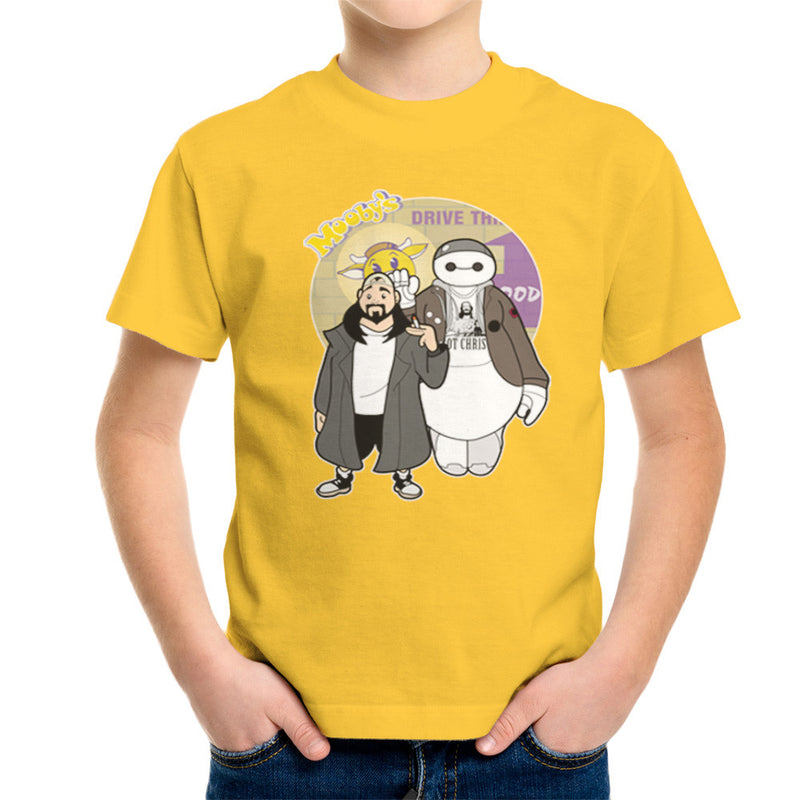 Jaymax and Silent Bob Mallrats Clerks Kid's T-Shirt Kid's Boy's T-Shirt Cloud City 7 - 17
