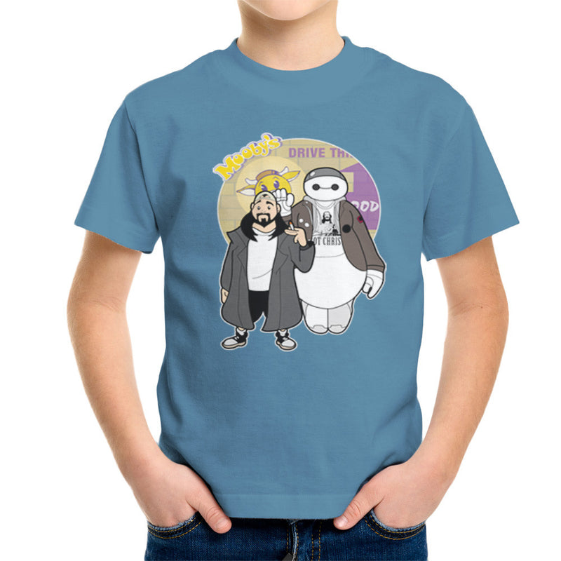 Jaymax and Silent Bob Mallrats Clerks Kid's T-Shirt Kid's Boy's T-Shirt Cloud City 7 - 9