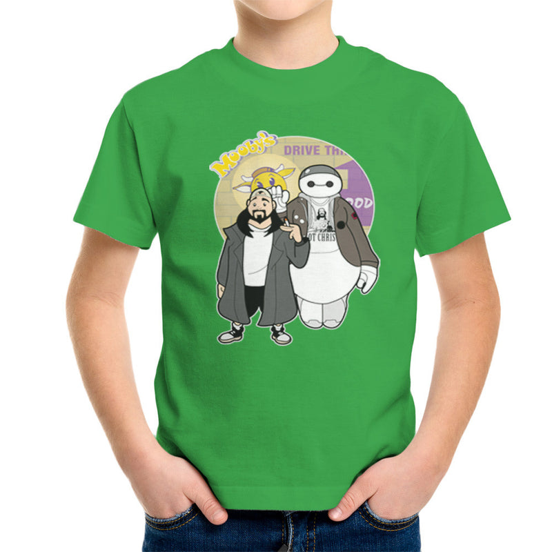 Jaymax and Silent Bob Mallrats Clerks Kid's T-Shirt Kid's Boy's T-Shirt Cloud City 7 - 14