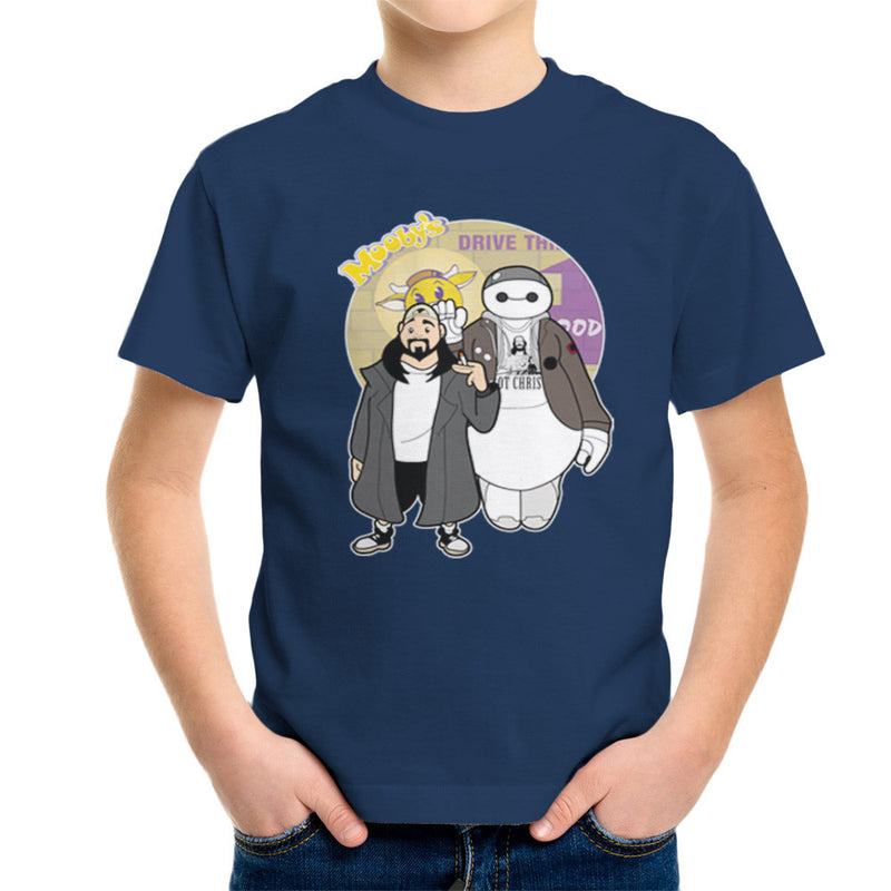 Jaymax and Silent Bob Mallrats Clerks Kid's T-Shirt Kid's Boy's T-Shirt Cloud City 7 - 7
