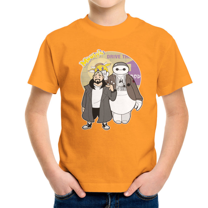 Jaymax and Silent Bob Mallrats Clerks Kid's T-Shirt Kid's Boy's T-Shirt Cloud City 7 - 16