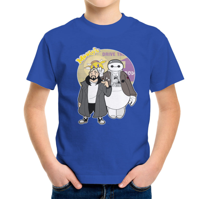 Jaymax and Silent Bob Mallrats Clerks Kid's T-Shirt Kid's Boy's T-Shirt Cloud City 7 - 8