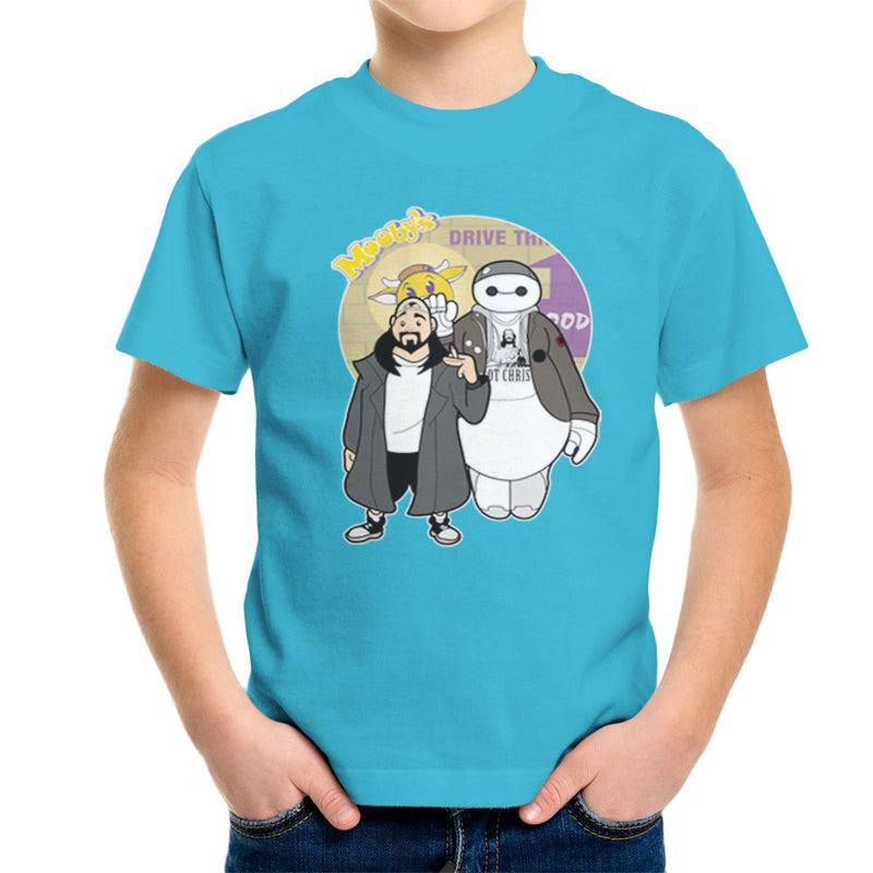 Jaymax and Silent Bob Mallrats Clerks Kid's T-Shirt Kid's Boy's T-Shirt Cloud City 7 - 10