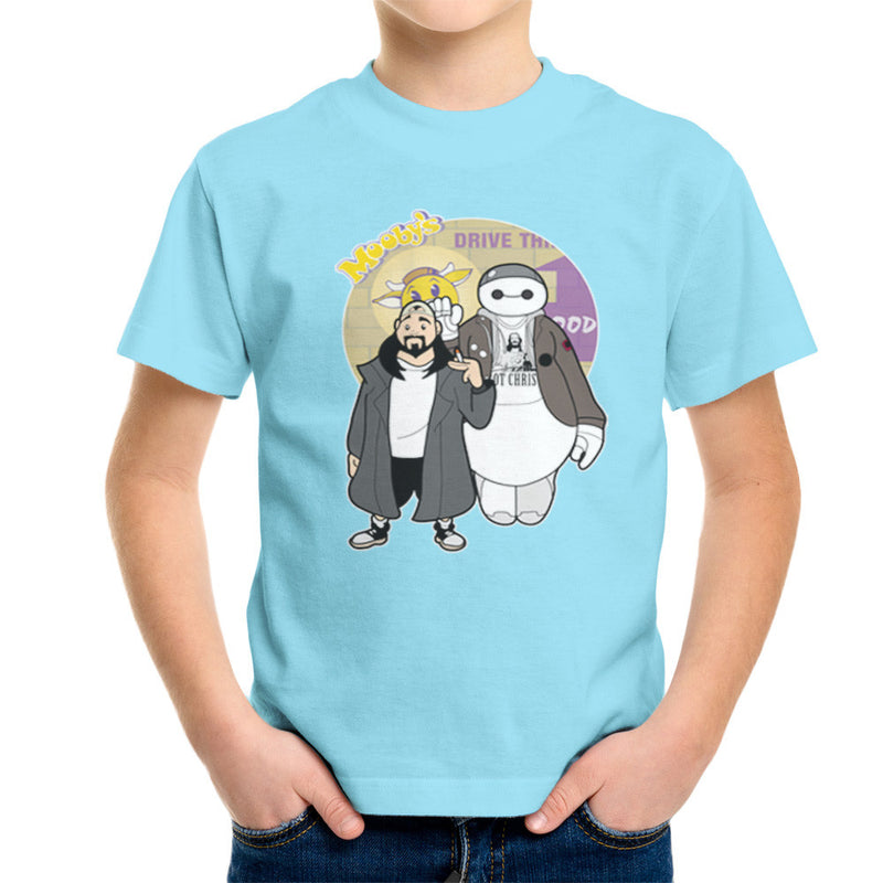 Jaymax and Silent Bob Mallrats Clerks Kid's T-Shirt Kid's Boy's T-Shirt Cloud City 7 - 11