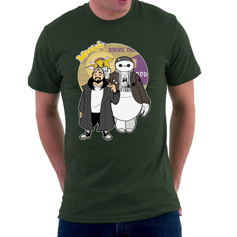 Jaymax and Silent Bob Mallrats Clerks Men's T-Shirt by TopNotchy - Cloud City 7