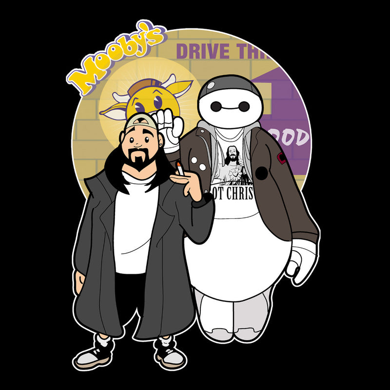 Jaymax and Silent Bob Mallrats Clerks Kid's T-Shirt Kid's Boy's T-Shirt Cloud City 7 - 3