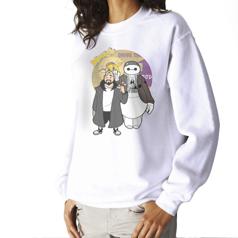 Jaymax and Silent Bob Mallrats Clerks Women's Sweatshirt by TopNotchy - Cloud City 7