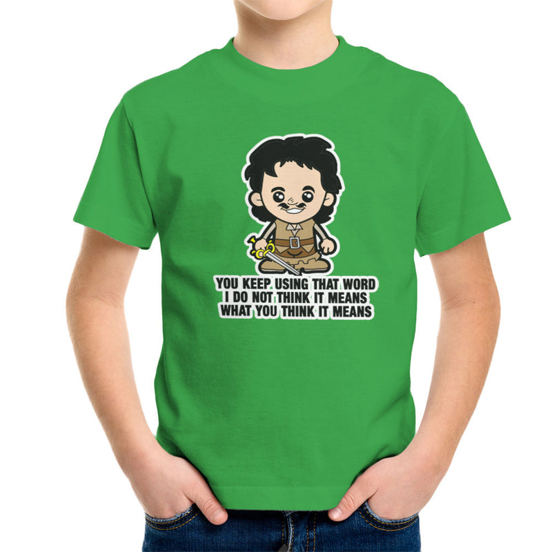 Lil Inigo Montoya Princess Bride Kid's T-Shirt by TopNotchy - Cloud City 7