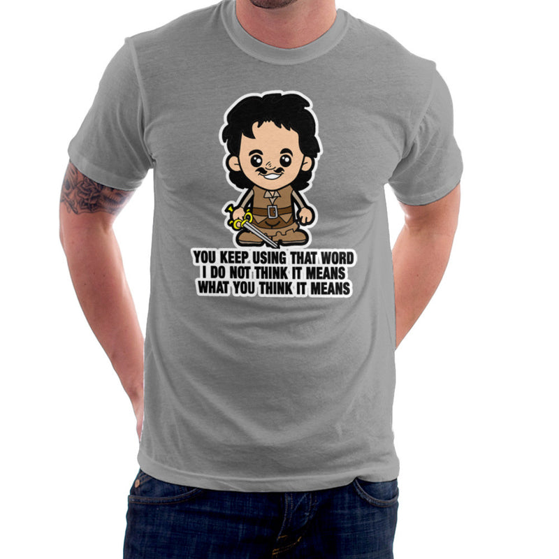 Lil Inigo Montoya Princess Bride Men's T-Shirt by TopNotchy - Cloud City 7