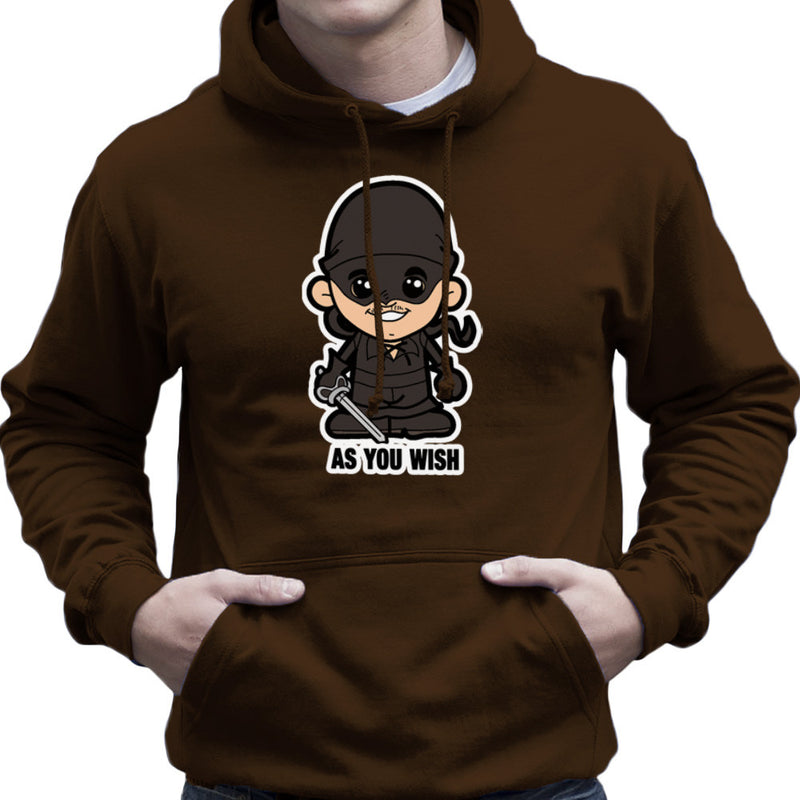 Lil Westley Princess Bride Men's Hooded Sweatshirt Men's Hooded Sweatshirt Cloud City 7 - 12