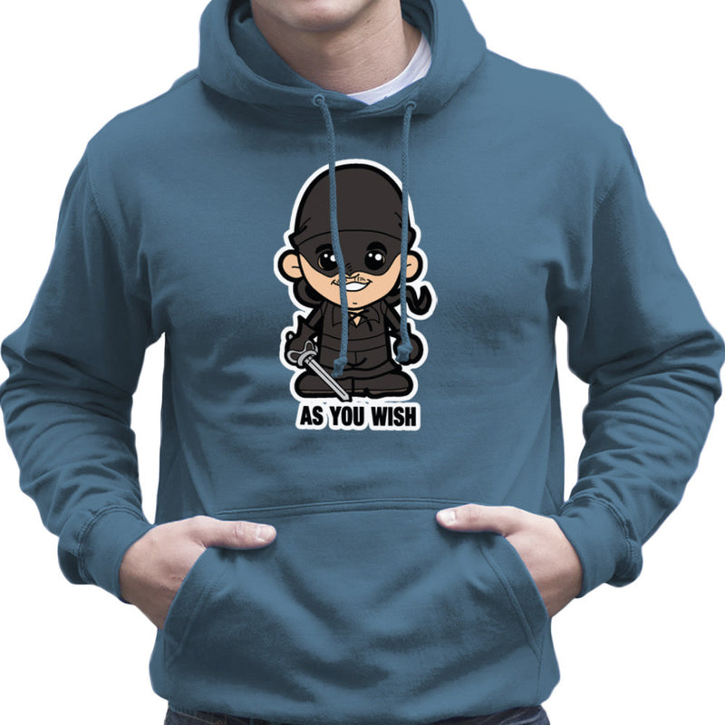 Lil Westley Princess Bride Men's Hooded Sweatshirt Men's Hooded Sweatshirt Cloud City 7 - 9