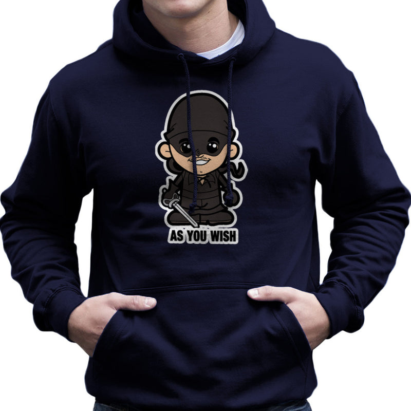 Lil Westley Princess Bride Men's Hooded Sweatshirt Men's Hooded Sweatshirt Cloud City 7 - 7
