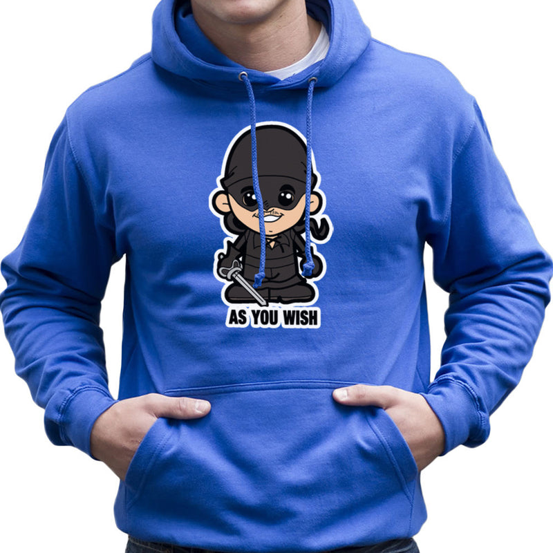 Lil Westley Princess Bride Men's Hooded Sweatshirt by TopNotchy - Cloud City 7