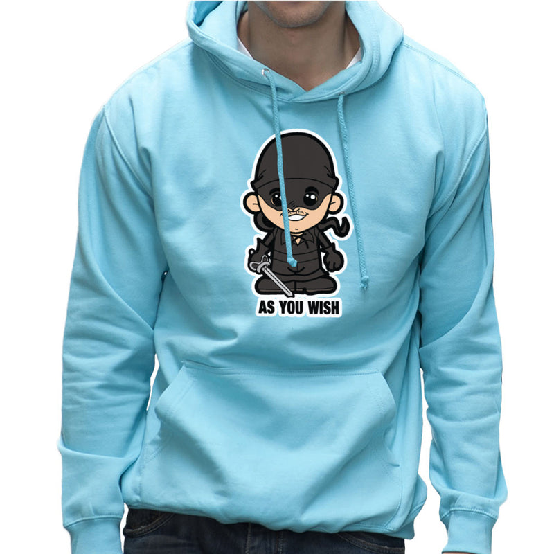 Lil Westley Princess Bride Men's Hooded Sweatshirt Men's Hooded Sweatshirt Cloud City 7 - 11
