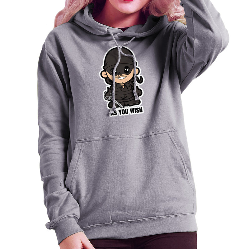 Lil Westley Princess Bride Women's Hooded Sweatshirt by TopNotchy - Cloud City 7