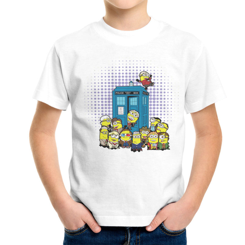 Doctor Who Minions in Time and Space Tardis Kid's T-Shirt Kid's Boy's T-Shirt Cloud City 7 - 6